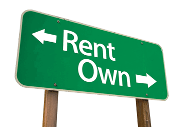 Thinking of Buying?  Owning Vs. Renting!